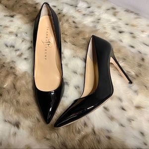 Ivanka Trump Shoes - Ivanka Trump   Black Patent Pump Heels